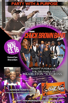 Benefit with the Chuck Brown Band