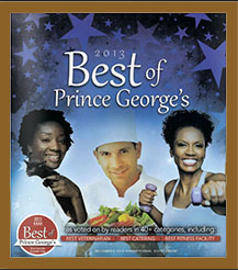 2013 Best of Prince George's Magazine Cover